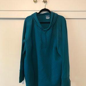 TEK Gear Woman's hoodie 3xl turquoise